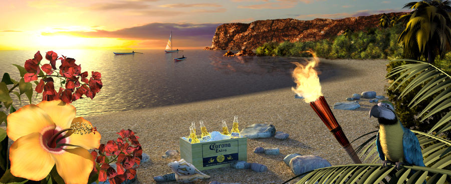 RealBranding : Corona Digital Postcards