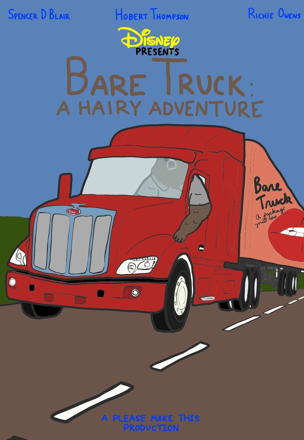 Disney Presents: Bare Truck: A Hairy Adventure -