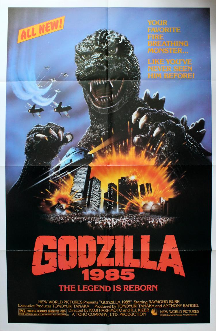 """Godzilla 1985"" - Released probably circa 1985, maybe"