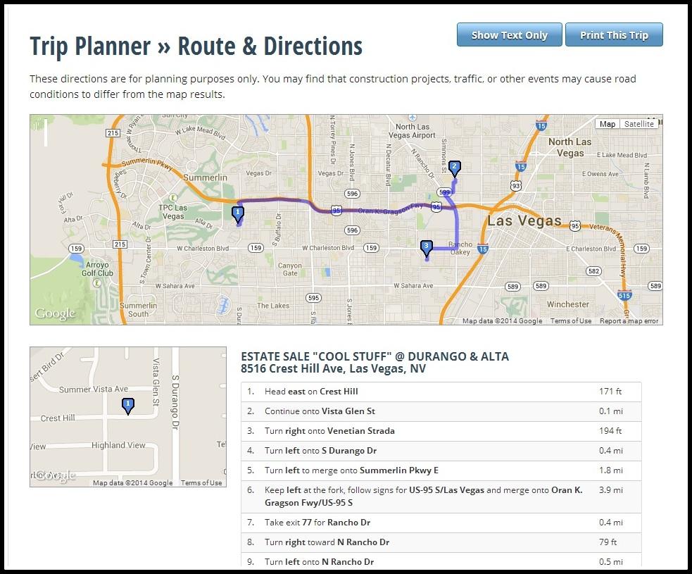 Gsalr.com Printed Map