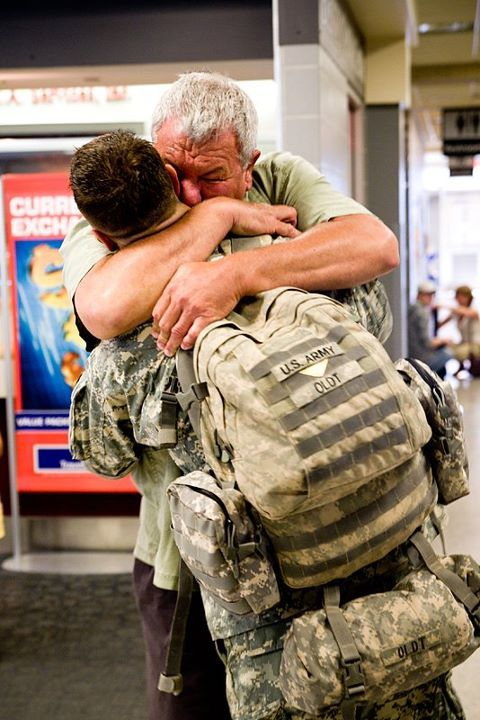 Welcome Home Soldier!