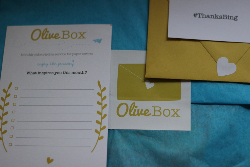 OliveBox Notes