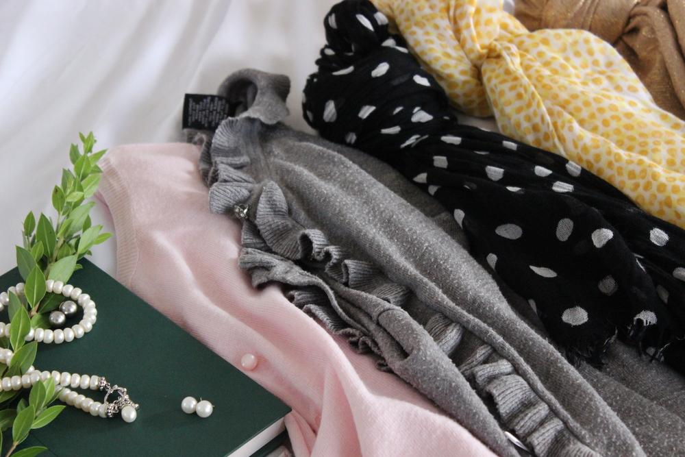 Pearls & Scarves