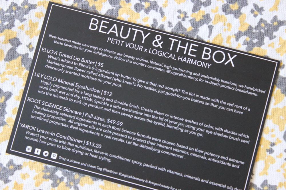 Petit Vour - Beauty & The Box