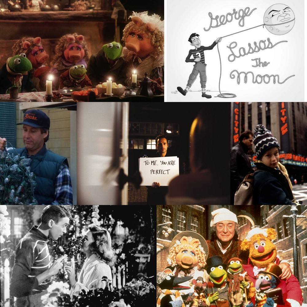 It's a Wonderful Life, Home Alone II, A Muppet Christmas Carol, Christmas Vacation and Love Actually are some of my favorite holiday movies! #ChristmasTraditionsTag #lbloggers #bbloggers #fbloggers