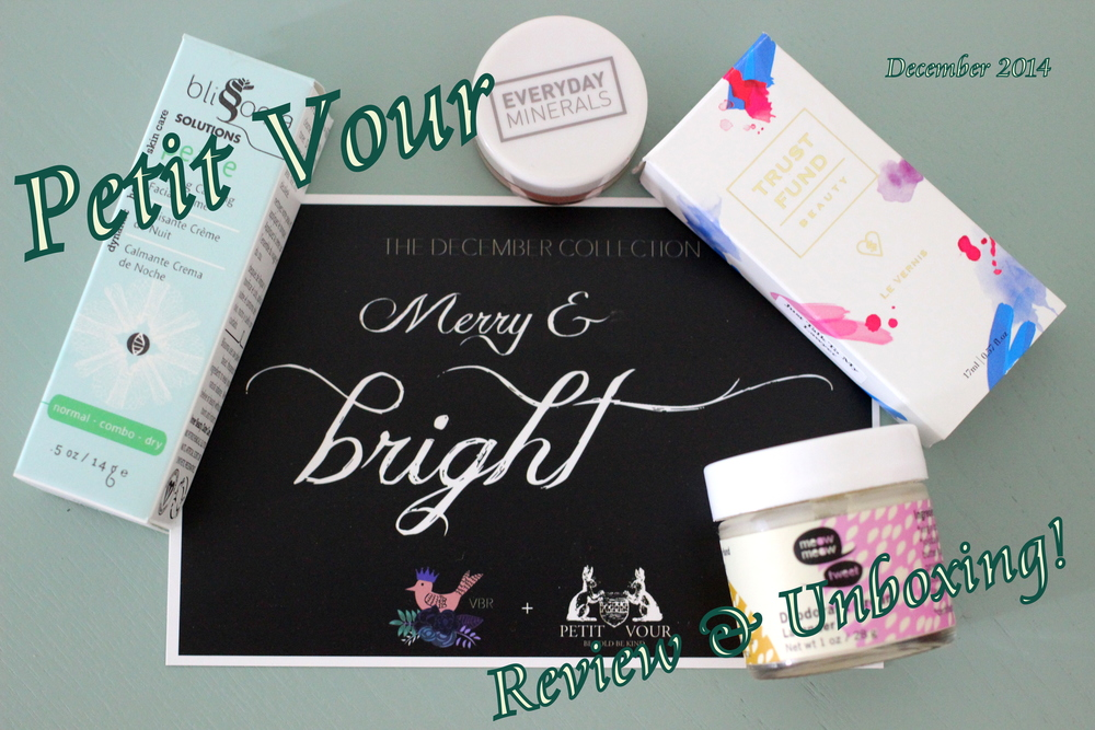 Petit Vour is a great monthly cruelty free beauty subscription. #veganbeauty #lbloggers