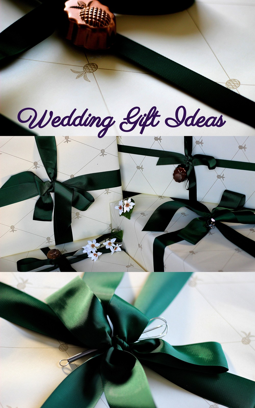 Lovely wedding gift ideas via Kaleidoscopes & Polka Dots