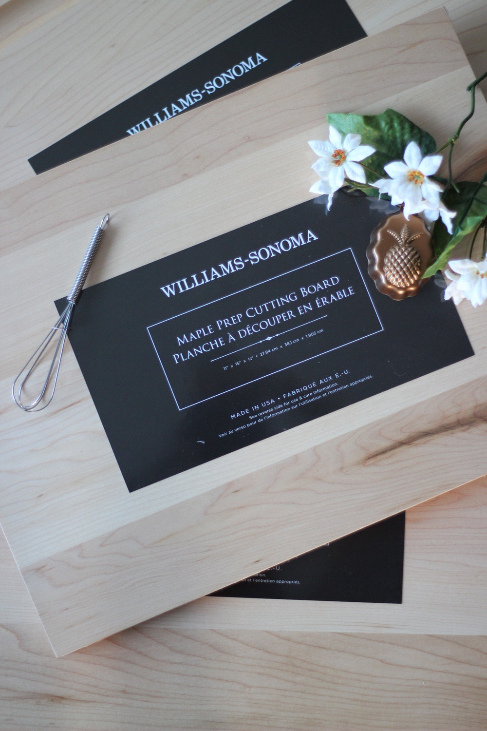 Wedding gift idea - cutting boards from William-Sanoma