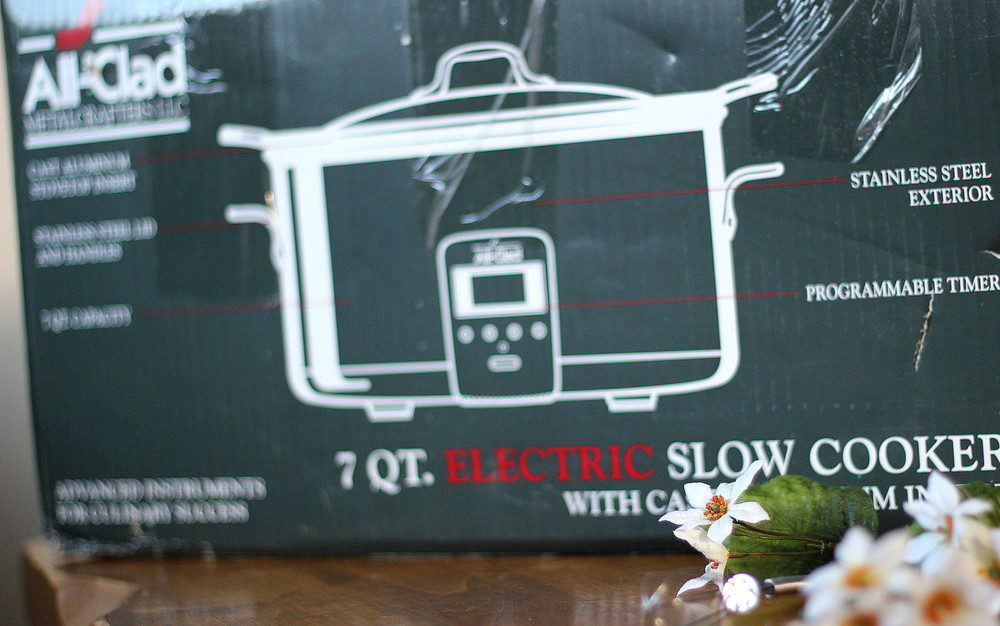 Wedding gift idea - slow cooker from William-Sanoma