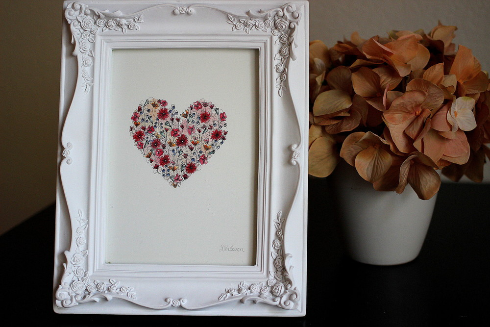 Wedding Gift Idea - Lovely art!