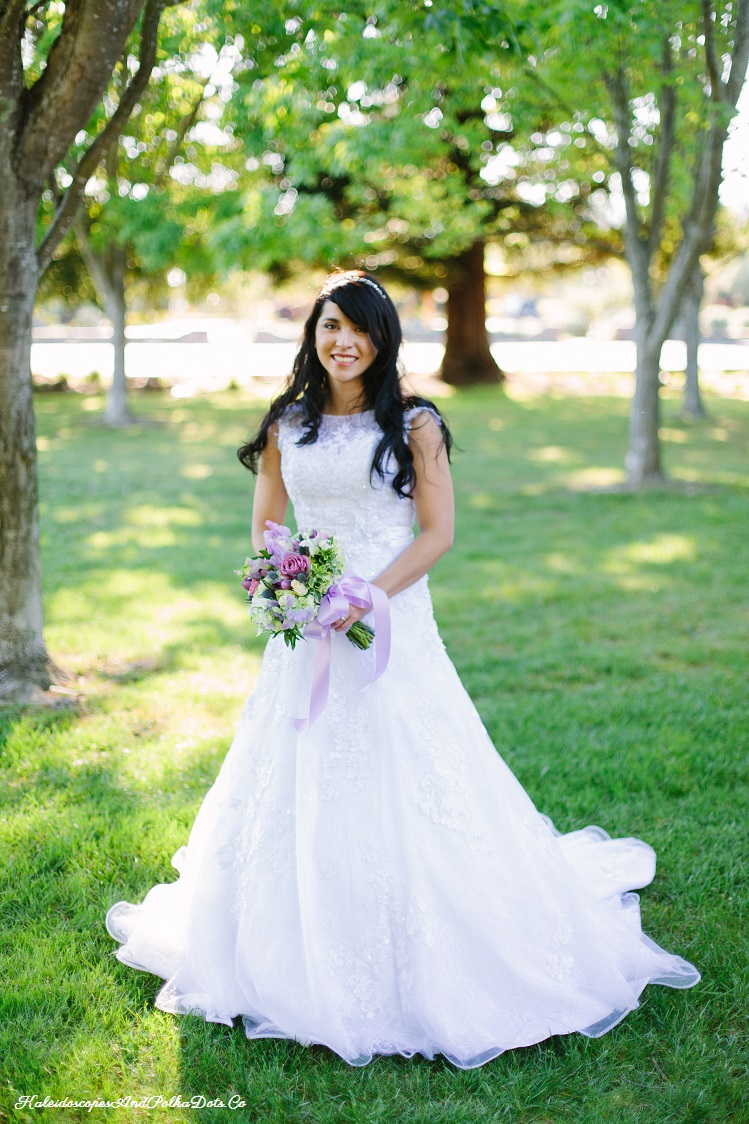 My wedding dress - from top to bottom // Kaleidoscopes And Polka Dots