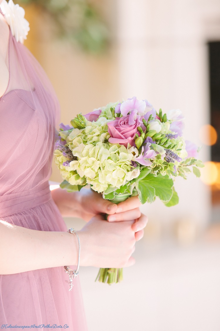 Bouquet of flowers from Erika Anderson // Kaleidoscopes And Polka Dots
