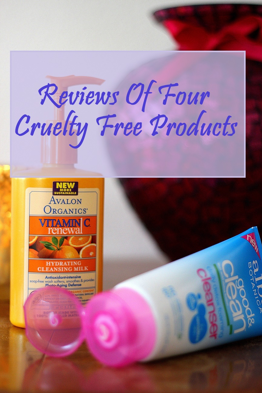 Transitioning to using cruelty free products can be a bit disappointing at times as sometimes they just don't work the way you would expect them to. Here's a review of two deodorants and two facial cleansers.
