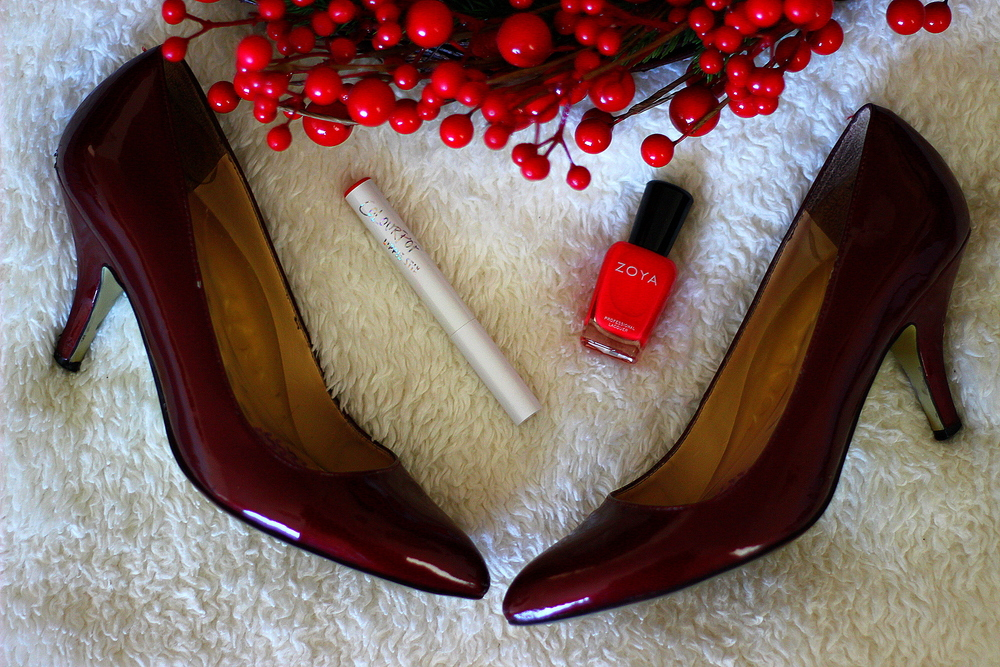 A red heel never goes out of style.