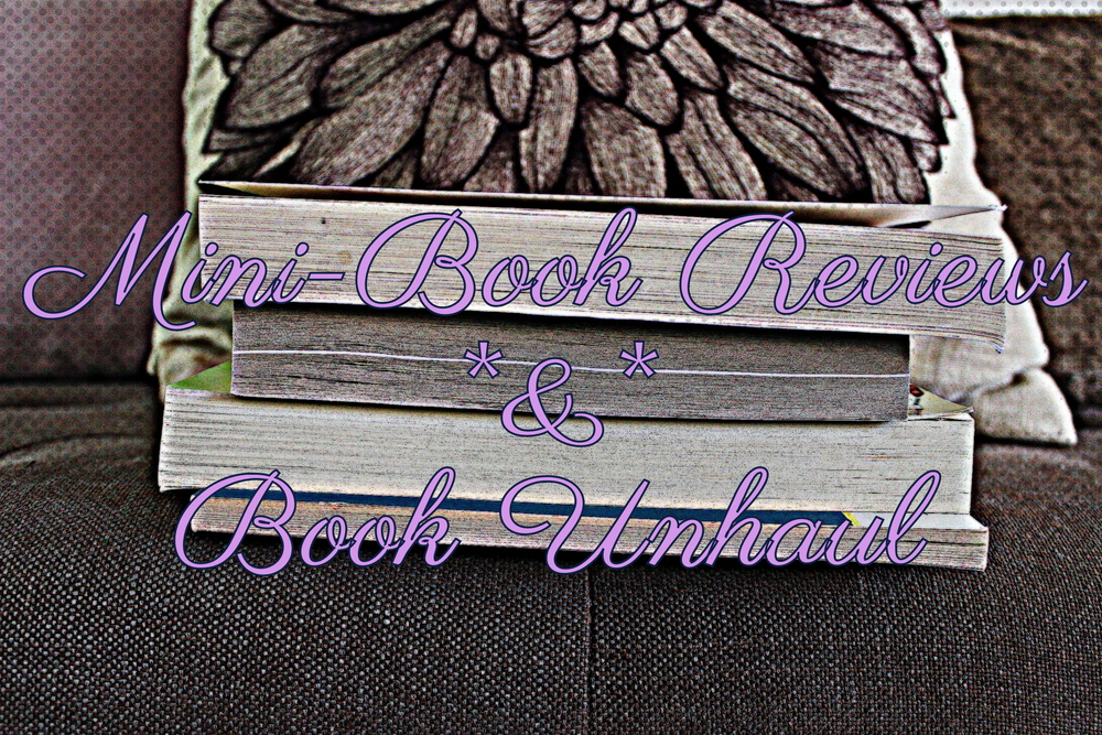 Mini book reviews of books to be donated to charity//Kaleidoscopes & Polka Dots
