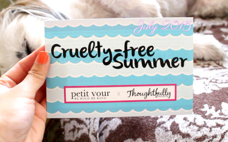 Petit Vour is a lovely monthly cruelty-free  beauty subscription. Here is my video review of July's box.