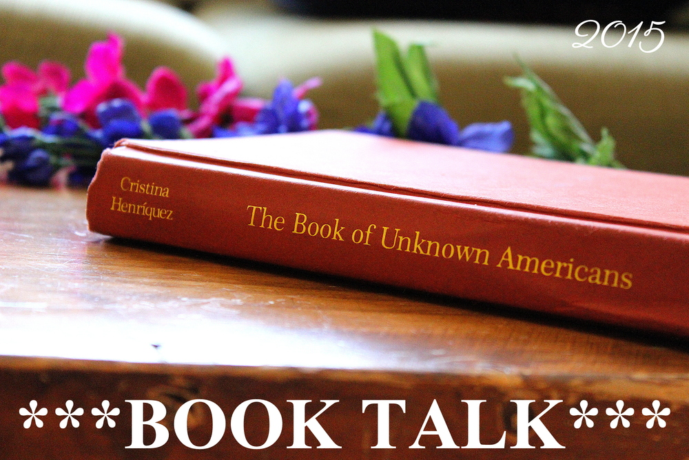 Video book review of The Book of Unknown Americans by Cristina Henriquez