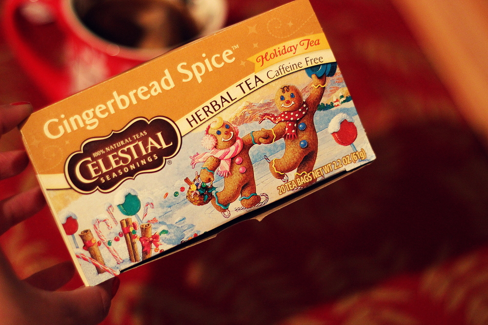 Gingerbread spice tea is truly something to look forward to!