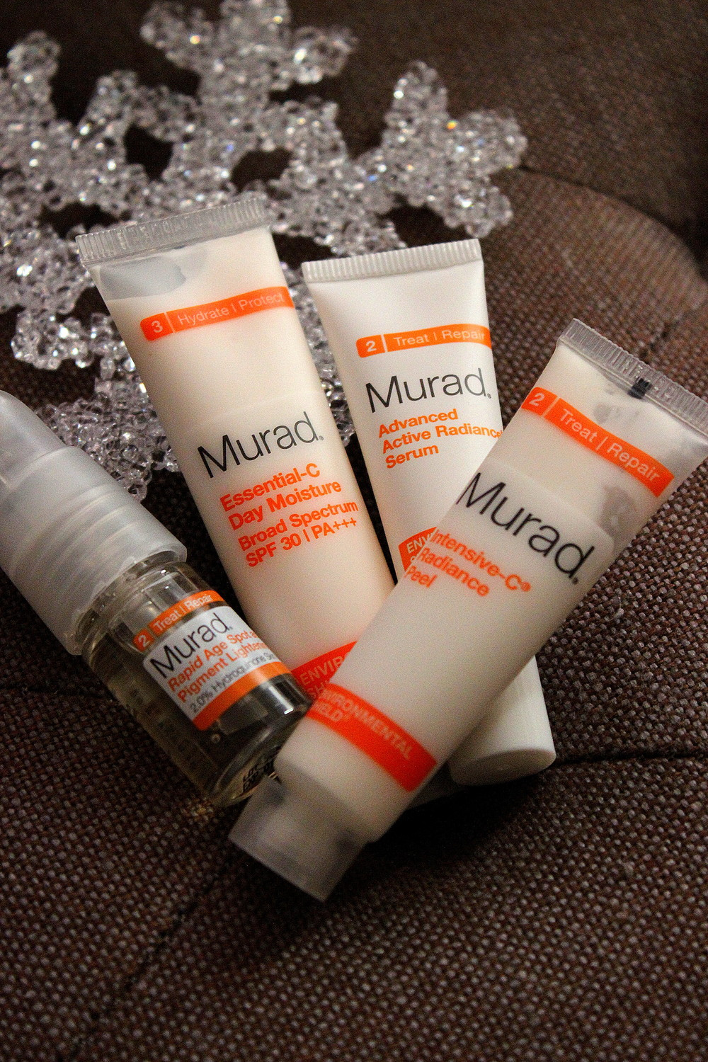 Murad Environmental Shield and Intensive-C Radiance Peel