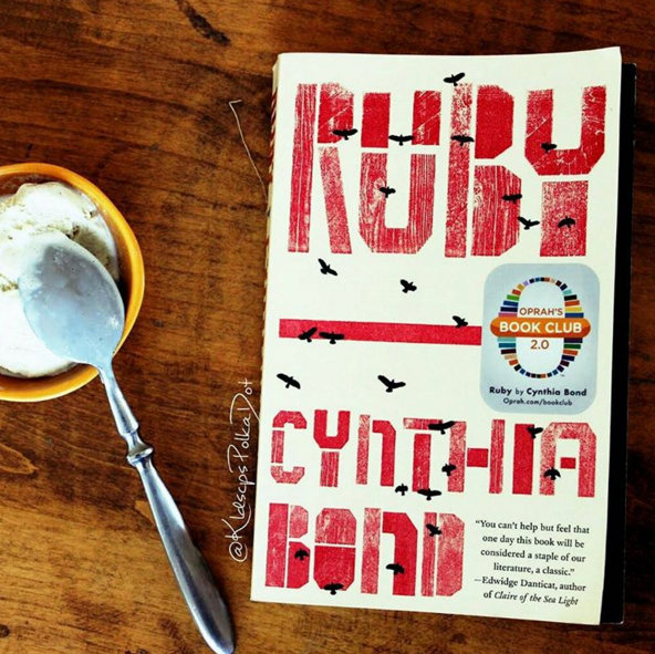 The first book I've DNF'd, Ruby by Cynthia Bond