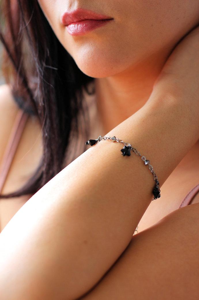 Star Charm Bracelet by Kaleidoscopes And Polkadots #jewelrygram #charmbracelet #treatyourself #handmade #handmadejewelry (33).JPG