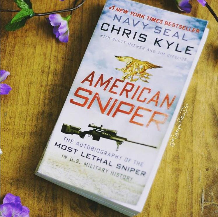 American Sniper by Chris Kyle #booklove #patrioticpost #bookbloggers #bookblog #bookish