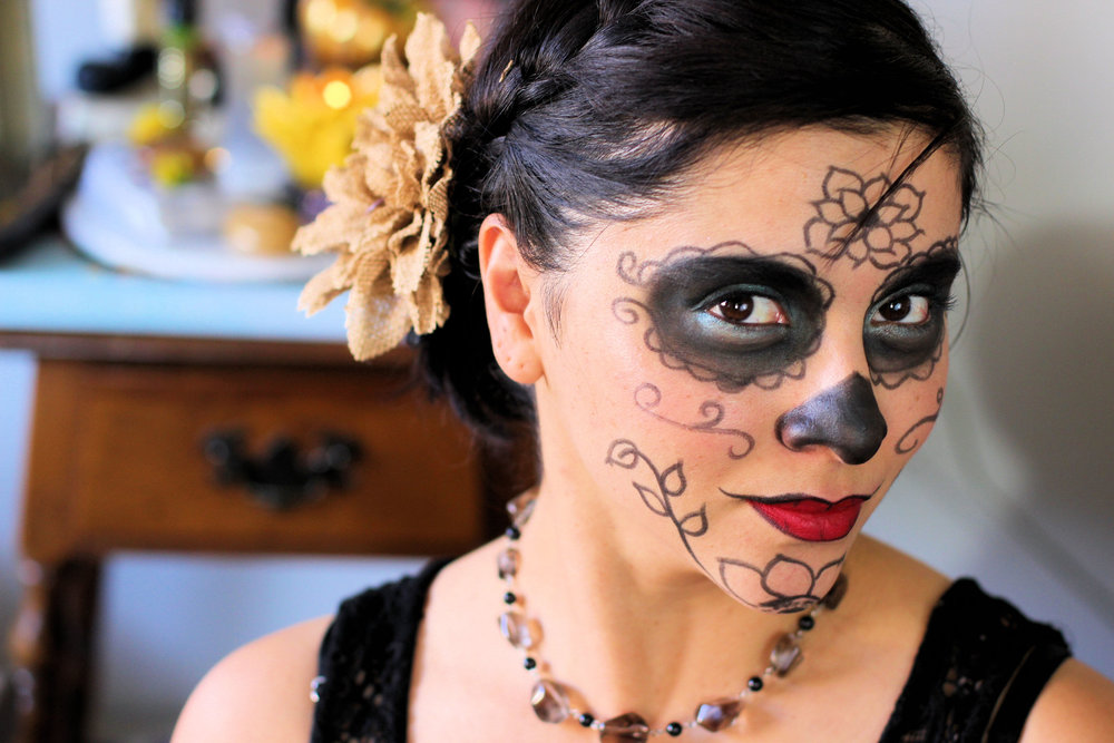 How I celebrate Day Of The Dead - a magical holiday. #lbloggers #dayofthedead #diadelosmuertos #cbloggers