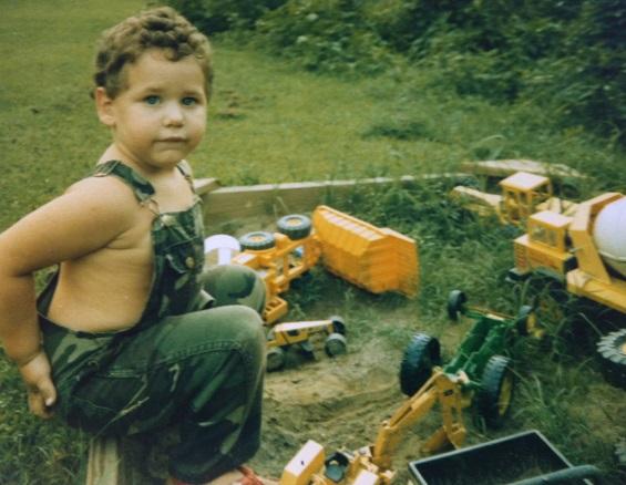 Little John Looney in his natural habitat.