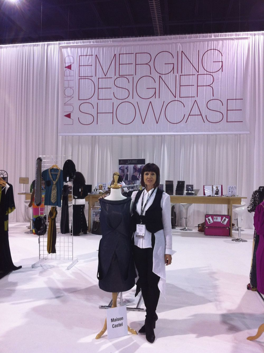 Dawn shows her latest designs at WWDMagic