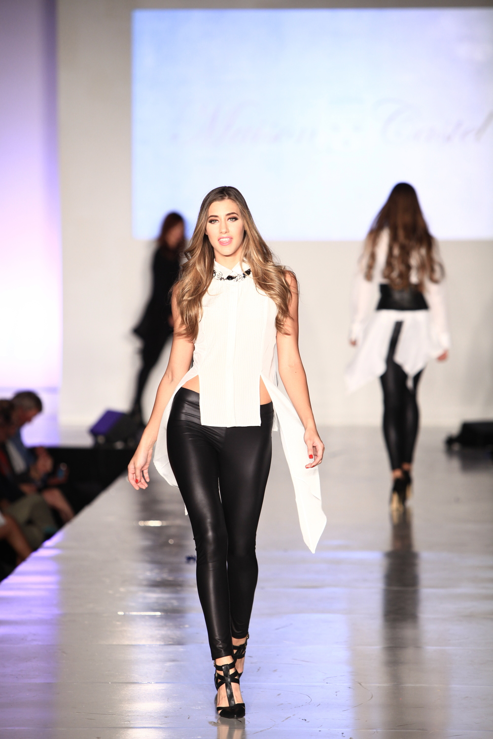 """Cinderella's Sea """"Night and Day"""" Necklace walks the Runway during LA Fashion Week"""
