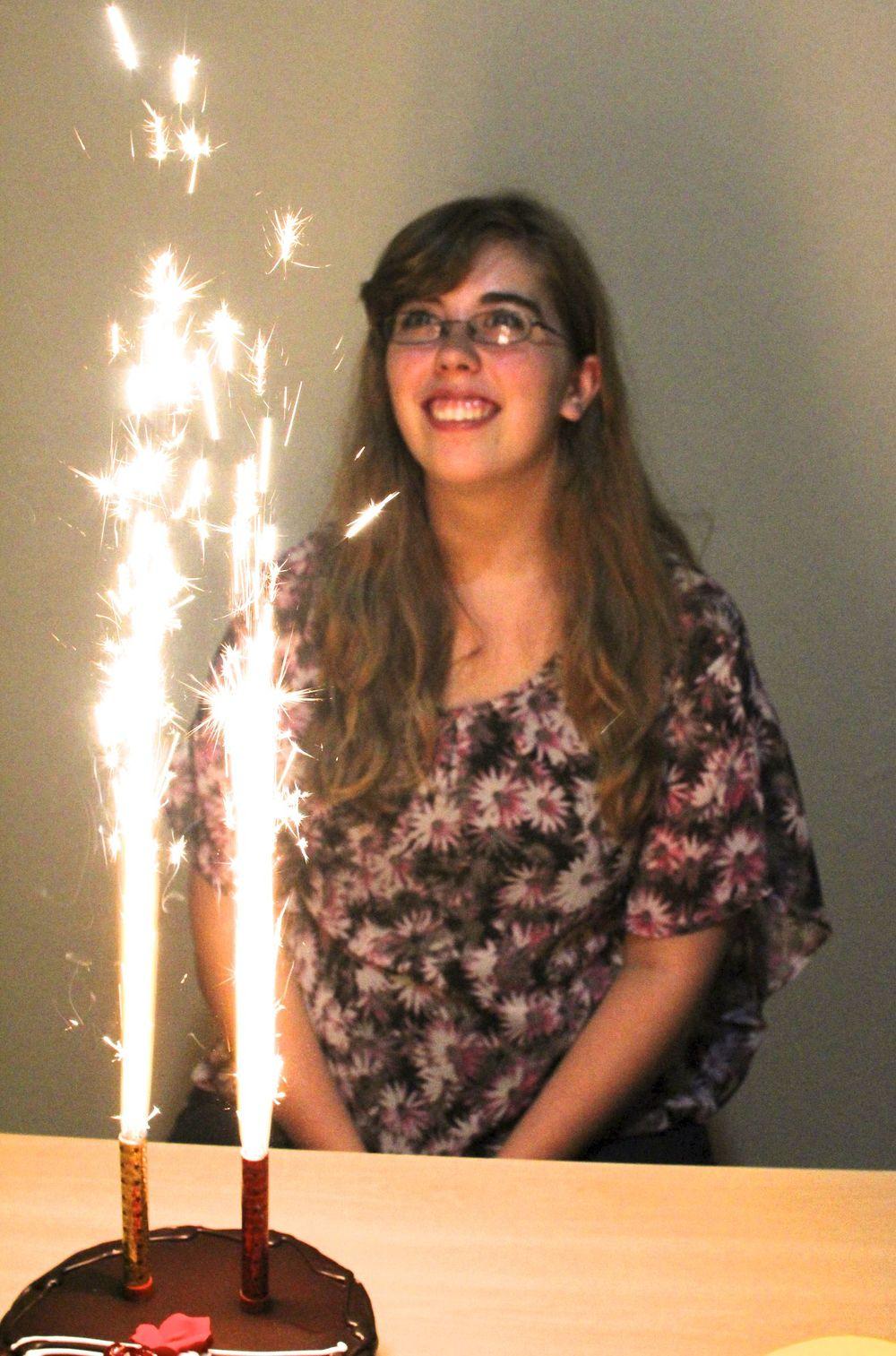 Bethany on her 17th birthday