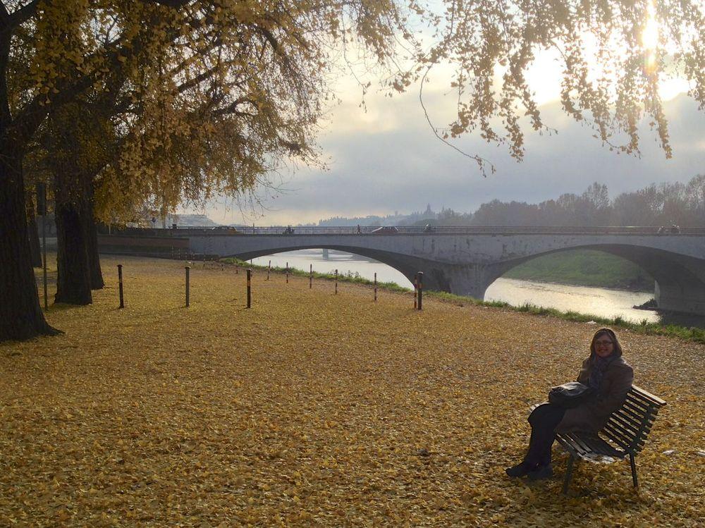 Morning Stroll along the Arno