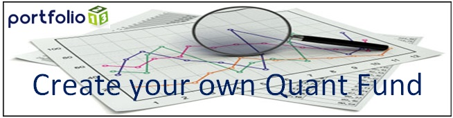 Create a stock portfolio using quantitative analysis - click here