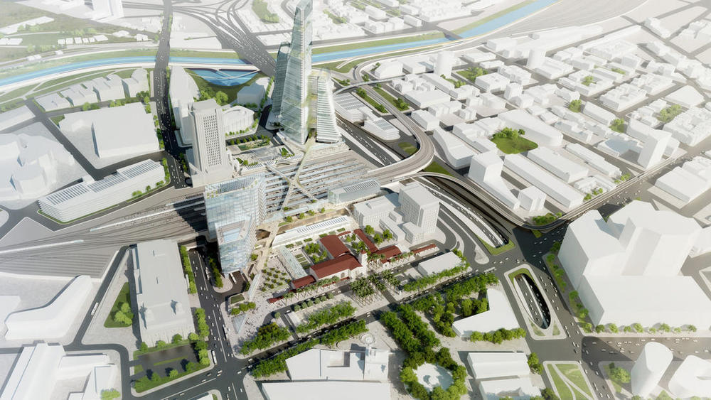 Los Angeles Union Station Master Plan Rendering
