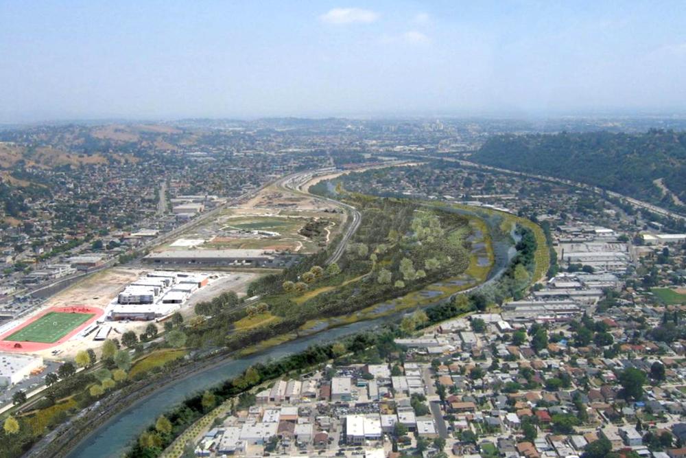 Los Angeles River Rendering