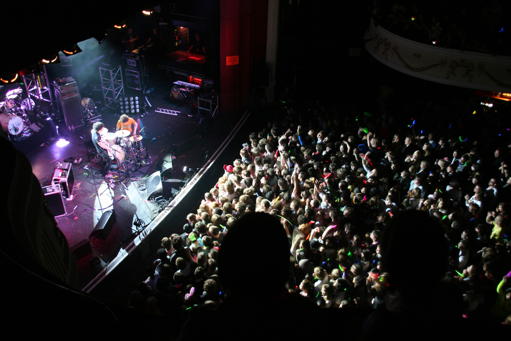 Shy Child   Opening for Klaxons  Shepard's Bush Empire, London     2007  ​