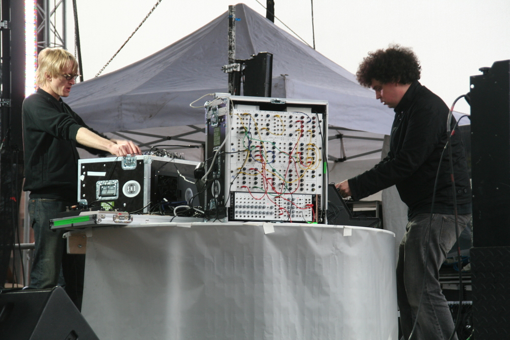 Simian Mobile Disco   Newcastle, England 2007