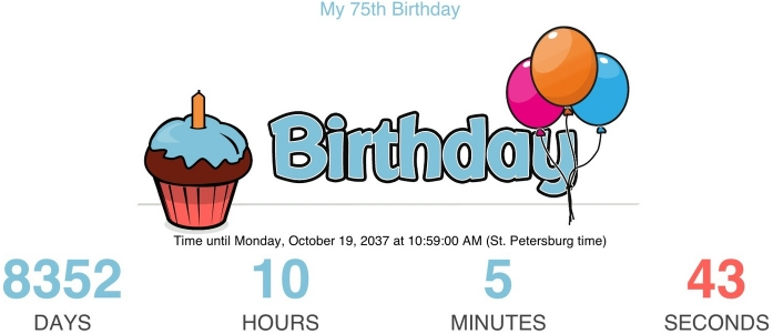 Click picture for actual countdown