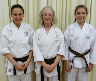 Three of our senior female students (Nicole, Vicki, Laura)