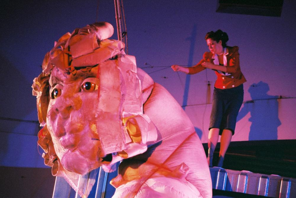 My Darling Patricia's  Dear Pat , The Boxed Set, Bondi Pavilion 2004. Photo by Heidrun Lohr