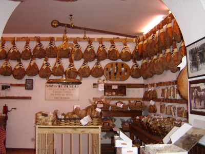Cinghiale shop in the village of Greve, Tuscany, Italy