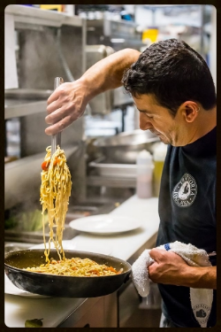 Chef Pietro's house made pasta is made fresh daily!