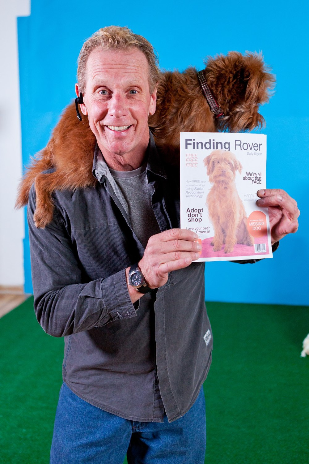 Dog trainer and magazine via Neil Lockhart.jpg