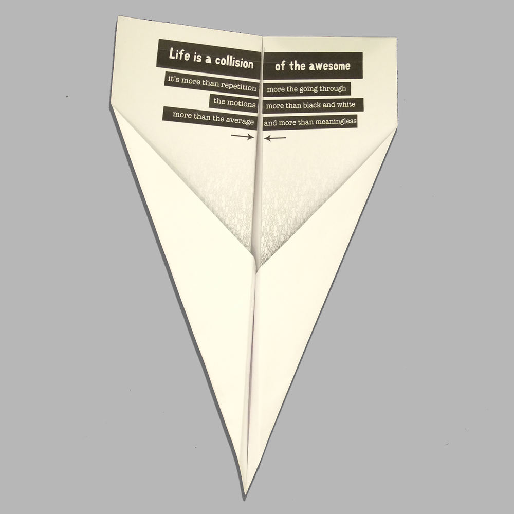 Download our origami plane here.
