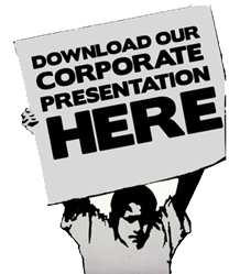 Download Our Corporate Presentation HERE