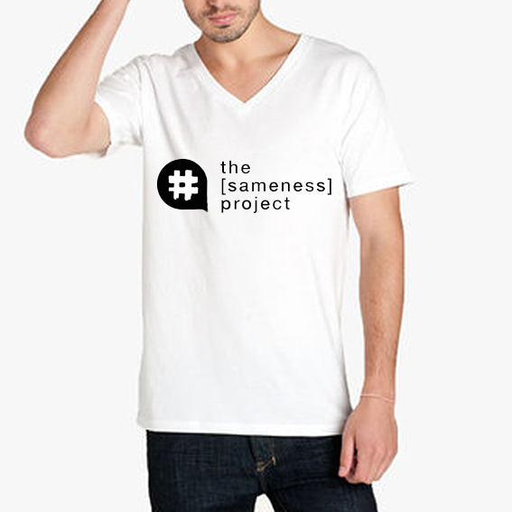the [sameness] project t-shirt.