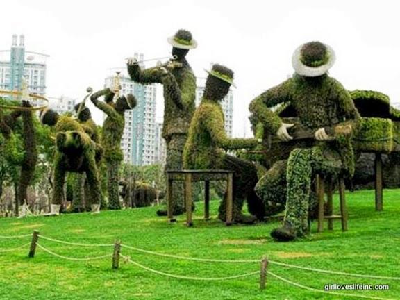 Century Park Musicians - Shanghai, China