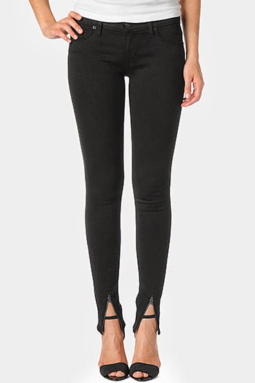 Hudson - Juliette Super Skinny in Black $189