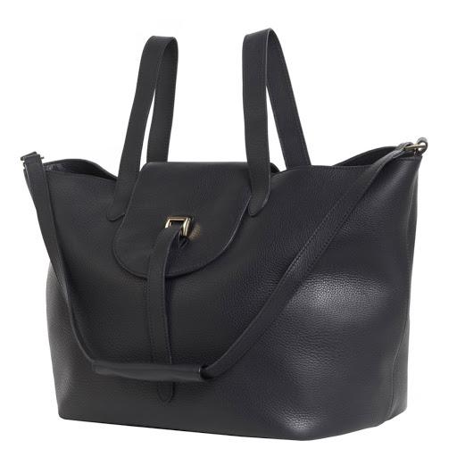 Thela bag in Off Black