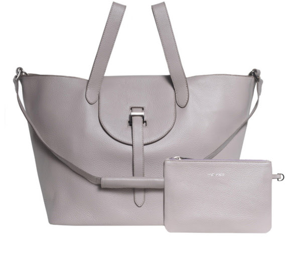 Thela bag in Taupe Cervo
